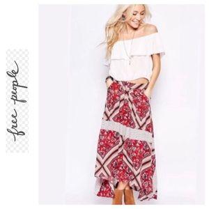 🌺 FREE PEOPLE Gypsy Maxi Skirt 🌺
